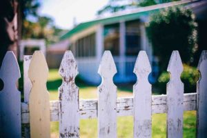 A fence between two neighbors