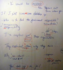 ESL conversation class notes