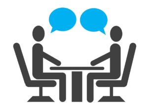 Study our lesson plan on job interviews.