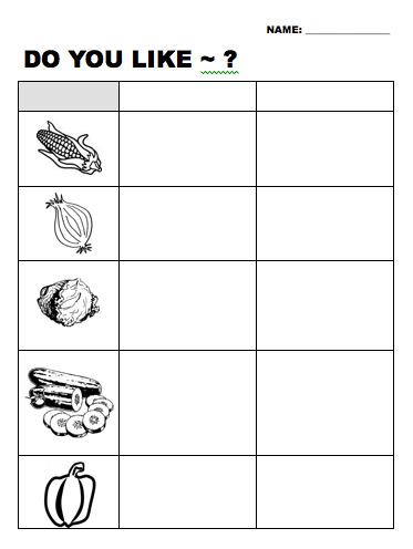 do you like vegetable esl worksheet beginner elementary level. Black Bedroom Furniture Sets. Home Design Ideas
