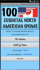 Essential North American Idioms