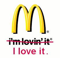 McDonalds loves bad grammar.