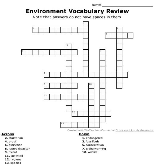 review vocabulary with this ESL game