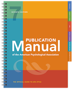 APA 7 Manual