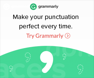 Grammarly helps with punctuation.