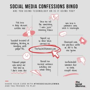 Social media bingo
