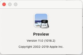 Preview App for Mac Os
